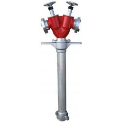Stojak hydrantowy DIN80 2x75