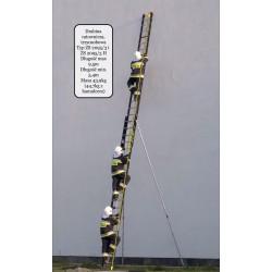 Drabina ratownicza ZS 2095/3H HAMULEC