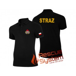 Koszulka polo strażacka PSP - Państwowa Straż Pożarna