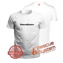 Koszulka biała Rescuesystem PREMIUM