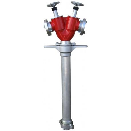 Stojak hydrantowy DIN80 2x52