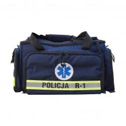 Zestaw ratowniczy POLICJA R1 w torbie (zarządzenie nr 55 3.06.2019)