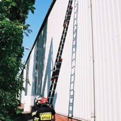 Drabina pożarnicza DNW 3080/3 z drążkami