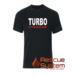 T-shirt TURBO Strażak