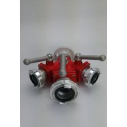 Rozdzielacz kulowy K-75/52-75-52 nasada obrotowa